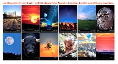 Kalender zu Gunsten des Tierheimes