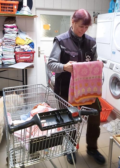 Wäsche- nicht umsonst nennen wir sie auch Wäscheanja