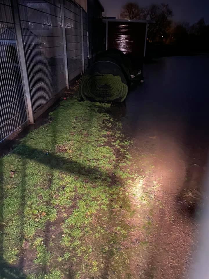 Hochwasserlage am Tierheim!